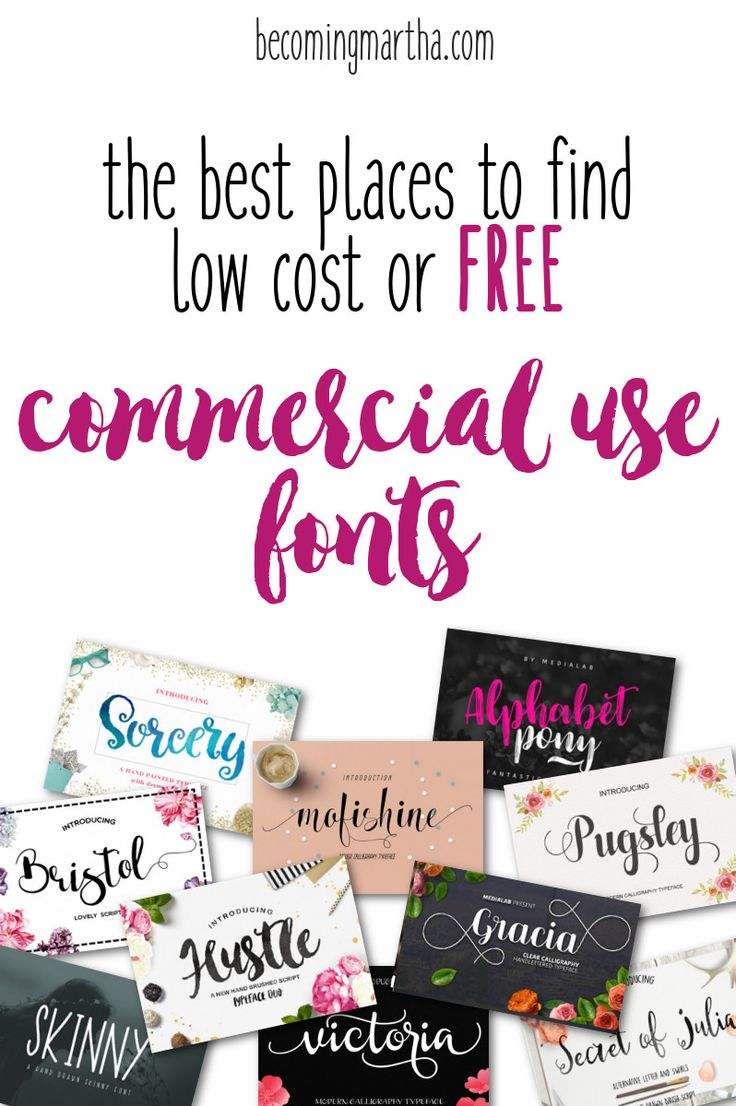 The Best Places to Find Low Cost & FREE Commercial Use