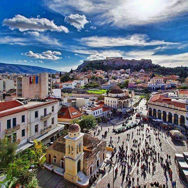 ATHENS, Greece. #greece #athens #parthenon #acropolis #hellas #monastiraki #greeks #greeklife #greek #greekgirl #visitgreece #orthodox #greekorthodox