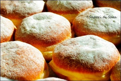 Bomboloni (Krapfen) alla nutella