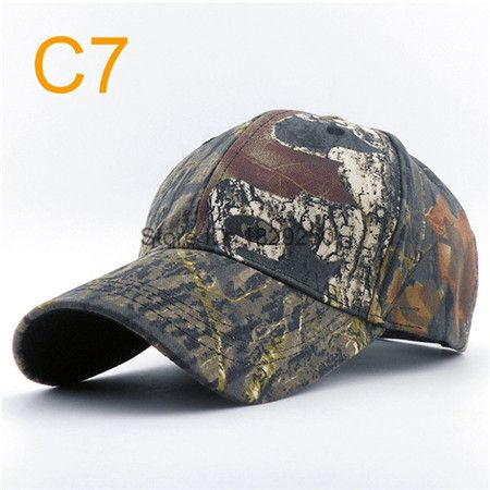 Mens Army Camo Cap Baseball Casquette Camouflage Hats For Men Hunting Camouflage Cap Women Blank Desert Camo Hat Male Wholesale