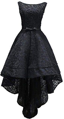 Rongstore Women's Sleeveless Beaded High Low Prom Dress L...