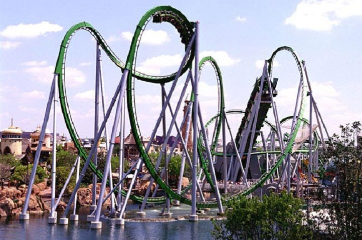 The Hulk Ride