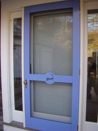 Nice CUSTOM WOODEN SCREEN/STORM DOORS« Seaport Shutter. Love This Color Screen  Door And