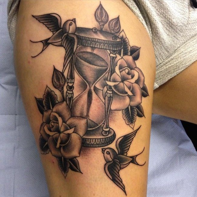 42 Best Hard Time Tattoo Designs Images On Pinterest