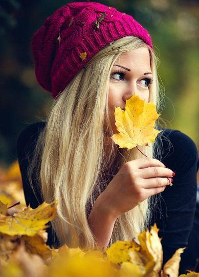 őszi levéllel