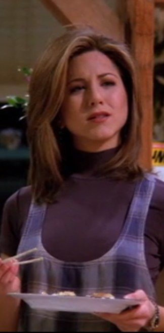 "This plaid dress | 20 Things Rachel Wore In ""Friends"" That You'd Definitely Wear Now"