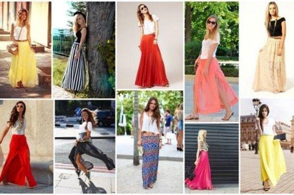 Οι maxi φούστες φέτος το Καλοκαίρι θα φορεθούν πολύ!