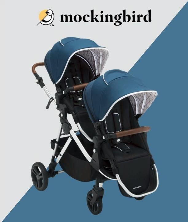 Mockingbird Single-to-Double Stroller Video Video in ...