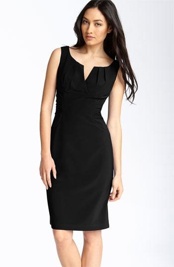 Adrianna Papell #vestido #tubinho #preto
