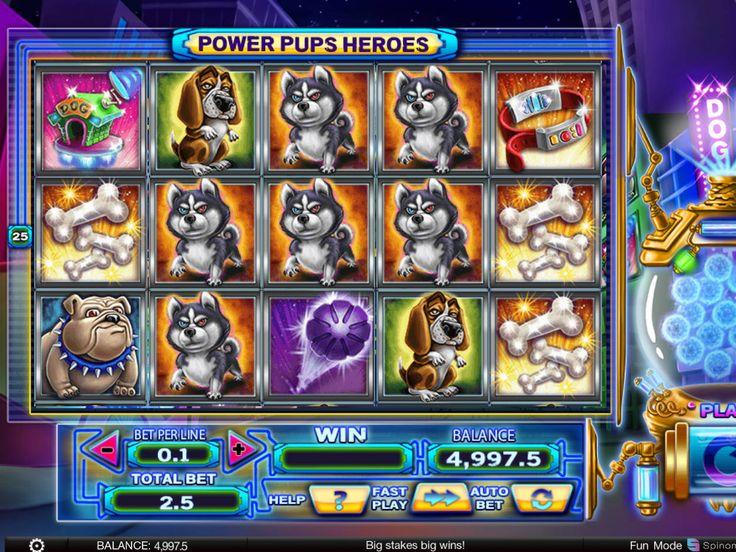 Wir haben sie gerade hinzufügt online Spielautomaten Spiel Power Pups Heroes - http://freeslots77.com/de/power-pups-heroes/