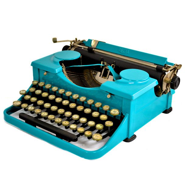 Hot type: Royal Portable Standard Typewriter, $532 by Kasbah Mob, from a selection at fab.com