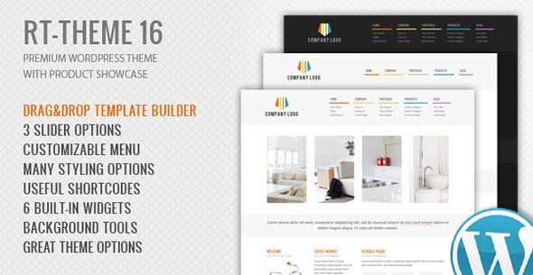 RT-Theme 16 Premium Wordpress Theme   http://themeforest.net/item/rttheme-16-premium-wordpress-theme/1746488?ref=damiamio                 UPDATED: Version 2.4.1 | May 14, 2014  RT-Theme 16 is a premium WordPress theme with powerful CMS tools admin panel. You can use it for business, corporate, product catalogue, services or portfolio web sites. The product and portfolio tools also give you wide opportunities to use in various services as tour itineraries, rent a car, real estate or hotel…
