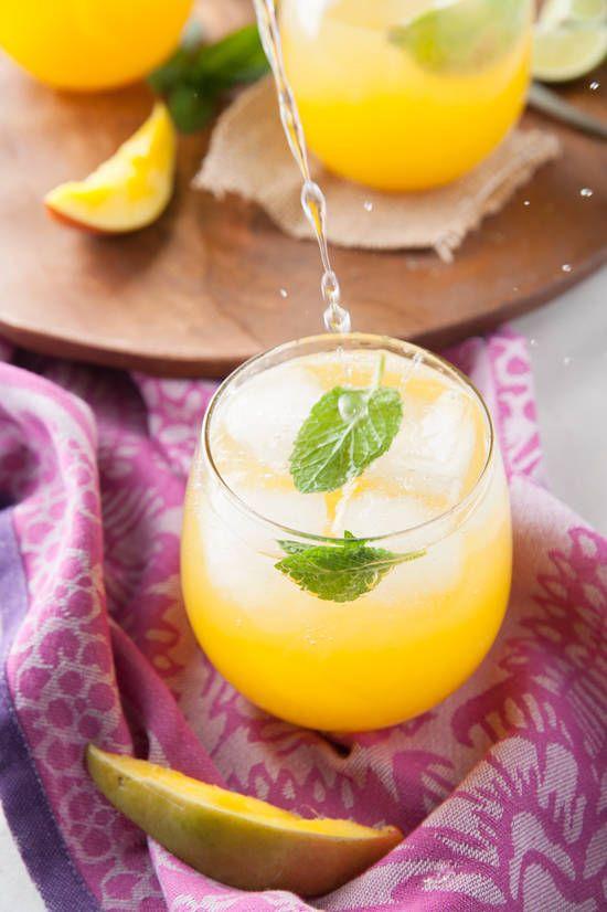 mango ginger fizz   designlovefest
