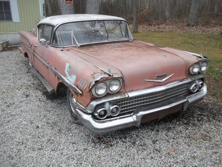 78 1958 Chevrolet Car Parts Cars For Sale Wanted