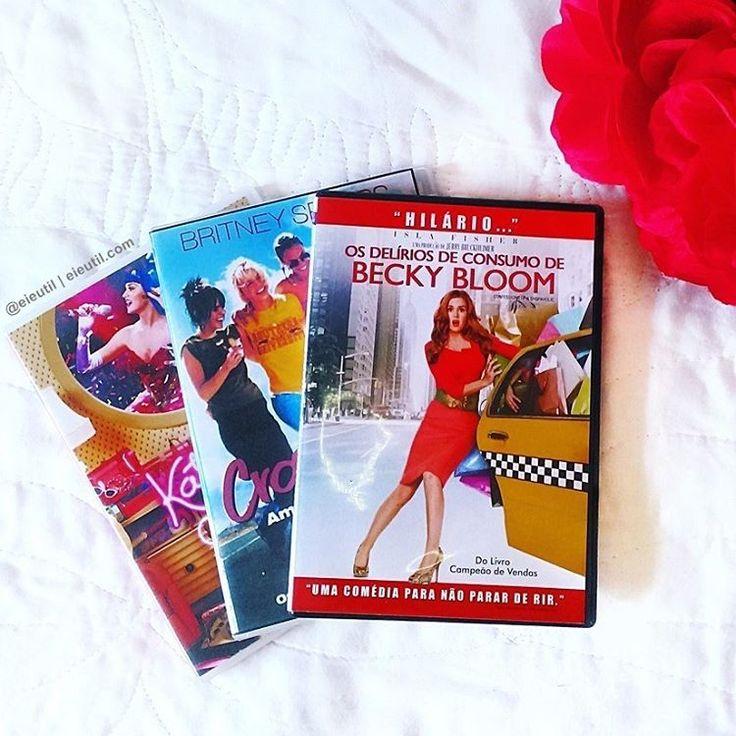 """Ei, é Útil! (Ana e Isa) no Instagram: """"Como já terminei de ver todas as temporadas de Gilmore Girls (esperando ansiosa para a 8° no Netflix), vou rever um desses, dos meus filmes favoritos! Já viram algum? [ANA] #eiEutil #KatyPerryPartOfMe #Crossroads #AmigasparaSempre #OsDelíriosdeConsumodeBeckyBloom #KatyPerryMovie #BritneySpearsMovie #BeckyBloom #ConfessionsOfaShopaholic"""""""