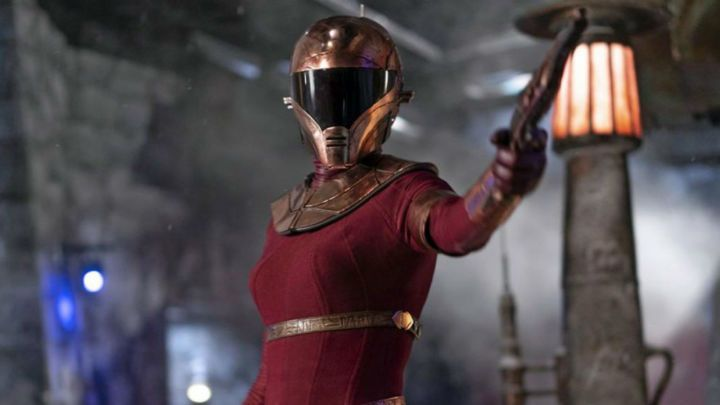 J J Abrams Says Zorii Bliss Actress Keri Russell Didn T Take Helmet Off For Two Days Ign Keri Russell Actresses Star Wars Episodes