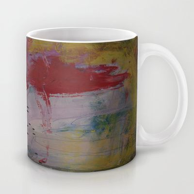 colors of the week - saturday Mug by Helle Pollas - $15.00