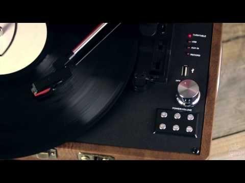 GPO Attache Case Vinyl Turntable Record Player