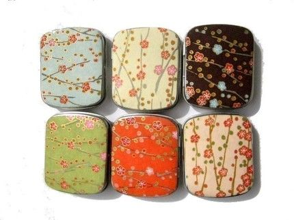 Carry pills in style! Can't beat cute and medicated!