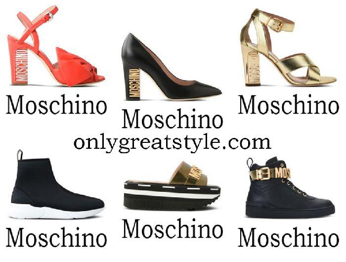 Moschino shoes spring summer 2018 women