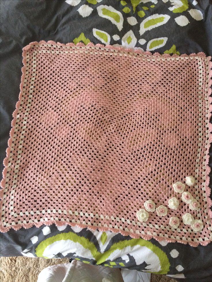 Friend's baby blanket