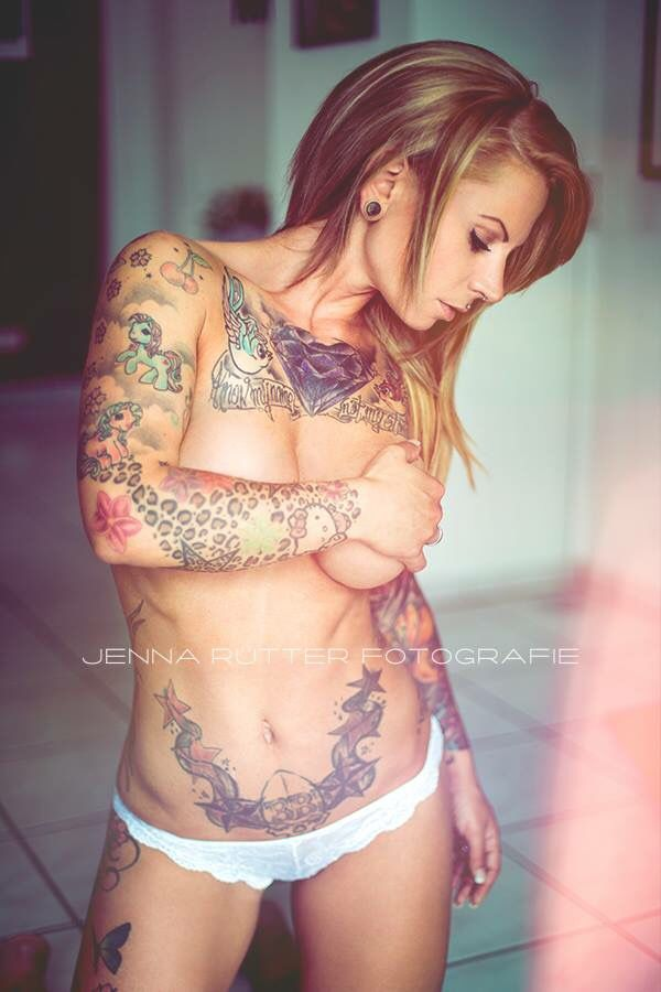172 best images about inked babes on pinterest tattooed for Nude women tattoo