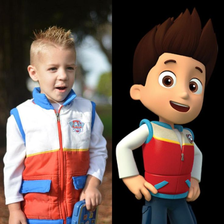 My son as Ryder from Paw Patrol for Halloween. I customized a red puffy vest. I know I am biased but I think it is better than most of the ones out there ;) I bought him the pup pad as an added prop. :)