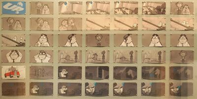 Up Pixar  storyboards