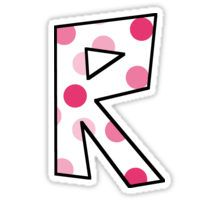 R Sticker
