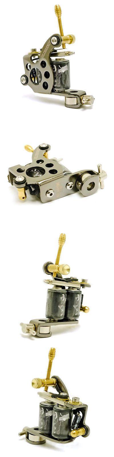 Tattoo Machines and Parts: Hildbrandt .357 Magnum Tattoo Machine 8 Wrap Liner Tatoo Gun Coil Tatuage BUY IT NOW ONLY: $49.99