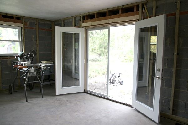 18 best images about breezeway on pinterest for Screens for french doors that open in