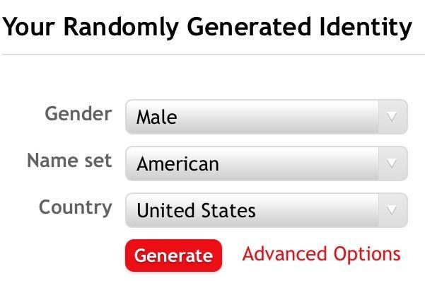 online dating username generator random
