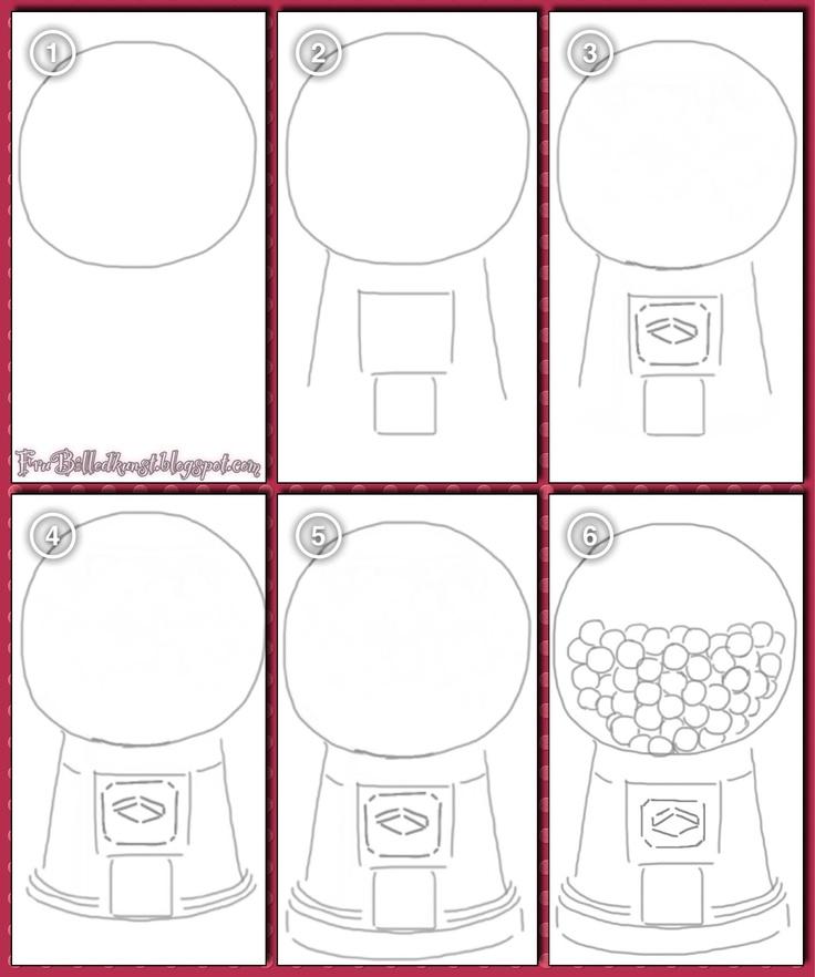 how to draw a machine
