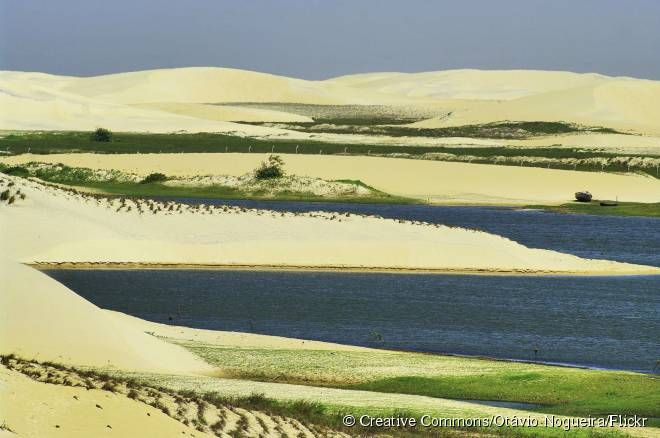 Piauí: Delta do Parnaíba tem paisagem única nas Américas