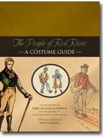 The People of Red River - A Costume Guide, by Judy and Barry McPherson. An excellent book on how a wide variety of people dressed during the settling of early 19th c. Rupert's Land, now the area around Winnipeg, Manitoba. Military, Native peoples, farmers, etc., plus background on the contemporary dress of Britain, where many of these people came from. Beautifully illustrated.
