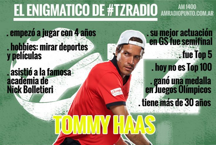 Tommy Haas.