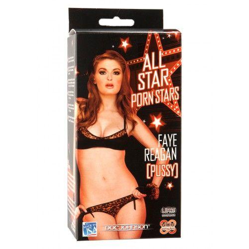ALL STAR PORN STARS - FAYE REAGAN Művagina Termékjellemzők Anyag:TPE Szín:Fehér Hosszúság:16 cm Átmérő:7 cm Termékjellemzők:realisztikus, vízálló, vagina, pornócsillag  Vad Erotika webáruház