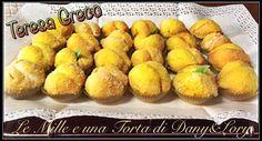 Condividi la ricetta...Condividi la ricetta...RICETTA DI: Teresa Greco Ingredienti: Per i limoncini: 600g di farina 4 uova 1 bustina di lievito per dolci 140g di zucchero 120g di burro o margarina 100ml di latte la buccia grattugiata…