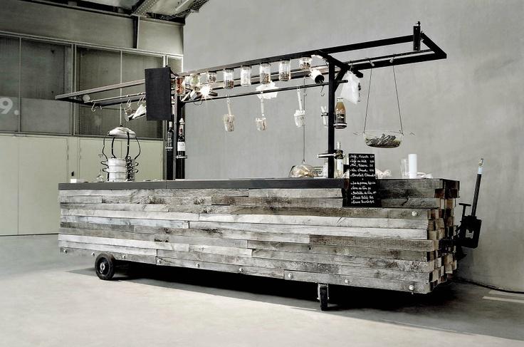 1000 images about portable bar on pinterest - Les grandes tables de la friche ...