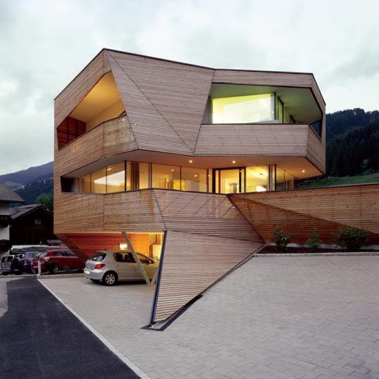 9 best Maisons modulaires images on Pinterest Wooden houses - plan maison cubique gratuit