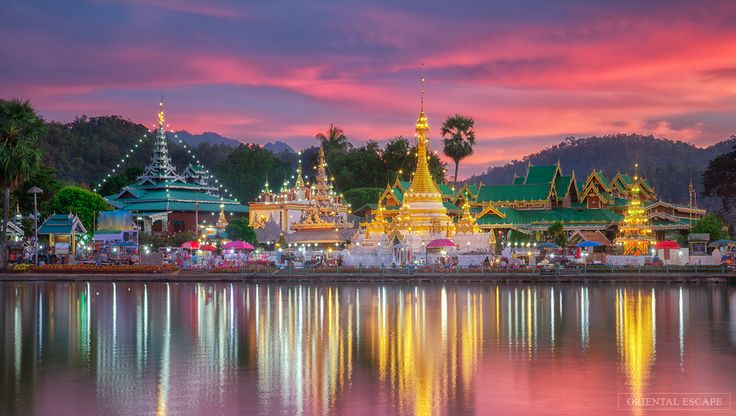 #Thailand is located in #Southeast Asia on the Gulf of Thailand and the #Andaman Sea. The center of Thailand consists of flat plains no more than a few feet above sea level, watered by the #ChaoPhraya River and a number of smaller rivers and canals. The country is generally quite safe, and it has decades of experience in catering to #travelers, be it anyone