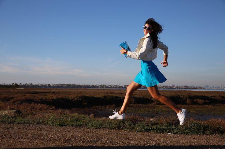 Ready, set, go! #Coronado #California   #sunny #funny #days #ootd #Adidas #HerveLeger #KateSpade #LV #Courreges #lifestyleblogger #fashionblogger #moalmada
