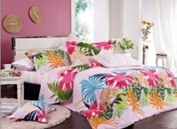 A tropical bedding set brings all the color and life of the Hawaiian Islands right in your bedroom. For a tropical experience in the bedroom,...: Tropical Experiment, Tropical Decor, Tropical Bedrooms, Color, Tropical Prints, Floral Tropical, Hawaiian Islands, Tropical Life, Tropical Beds