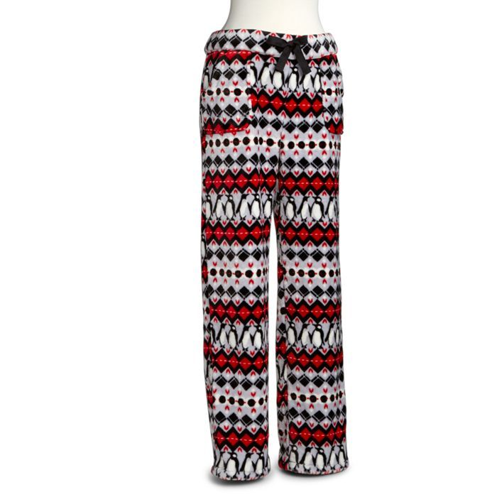 Penguin Fleece Pajama Pants
