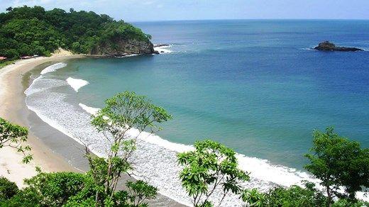 Troical beach in Central America: Playa Marsella in Nicuragua. Paradise! #beach #sand #kilroy #sea #ocean