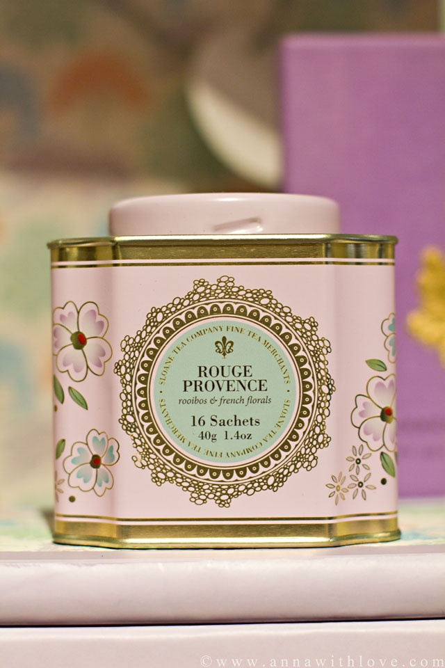 French style tea in the prettiest of storage tins #teastorage #teacaddy #teatin