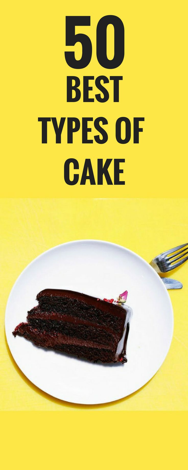 Every type of cake, ranked! Good to know!