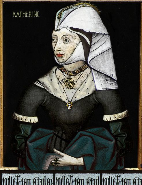 Catherine of Valois, b.27 October 1401 d.03 January 1437, wife of Henry V and Queen Consort. One child. It was through her second marriage to Owen Tudor that created the Tudor line.