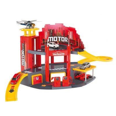 OK   Garage Majorette : Motor City 50 ans avec voiture - Majorette-212055056