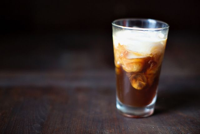 cold brewed iced coffee (for those early mornings)